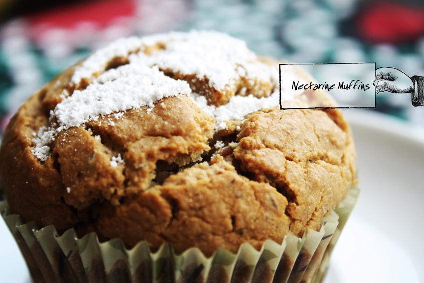 Nectarine Muffins1