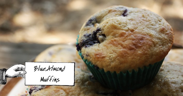 Blue Almond Muffins 1