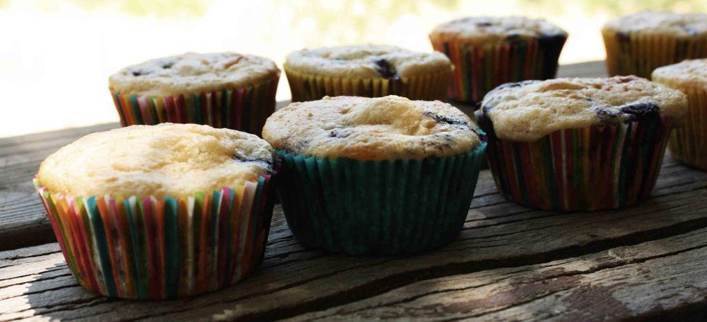 Blue Almond Muffins 3