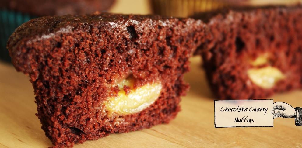 Chocolate Cherry Muffin 1