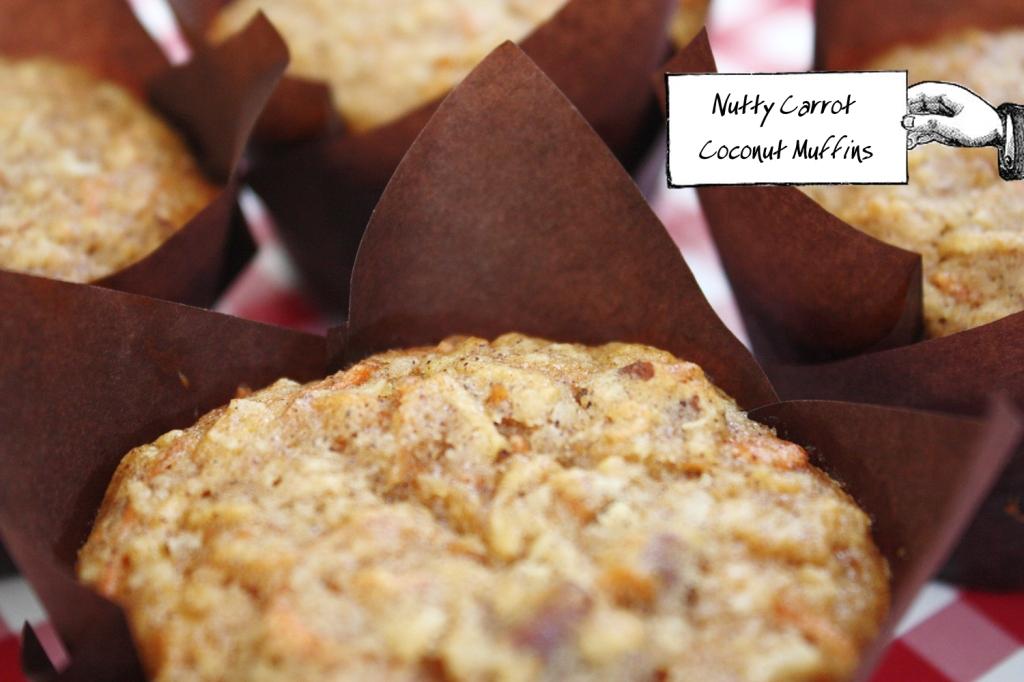 Nutta Carrot Coconut Muffins 1