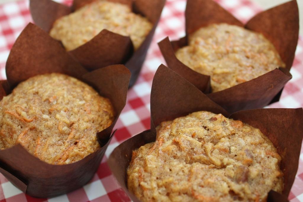 Nutta Carrot Coconut Muffins 3
