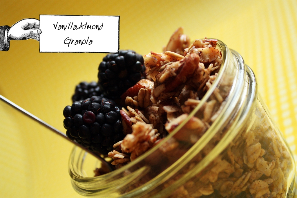 Almond Vanilla Granola 1