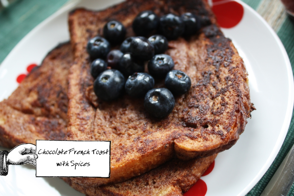Chocolate french toast 1