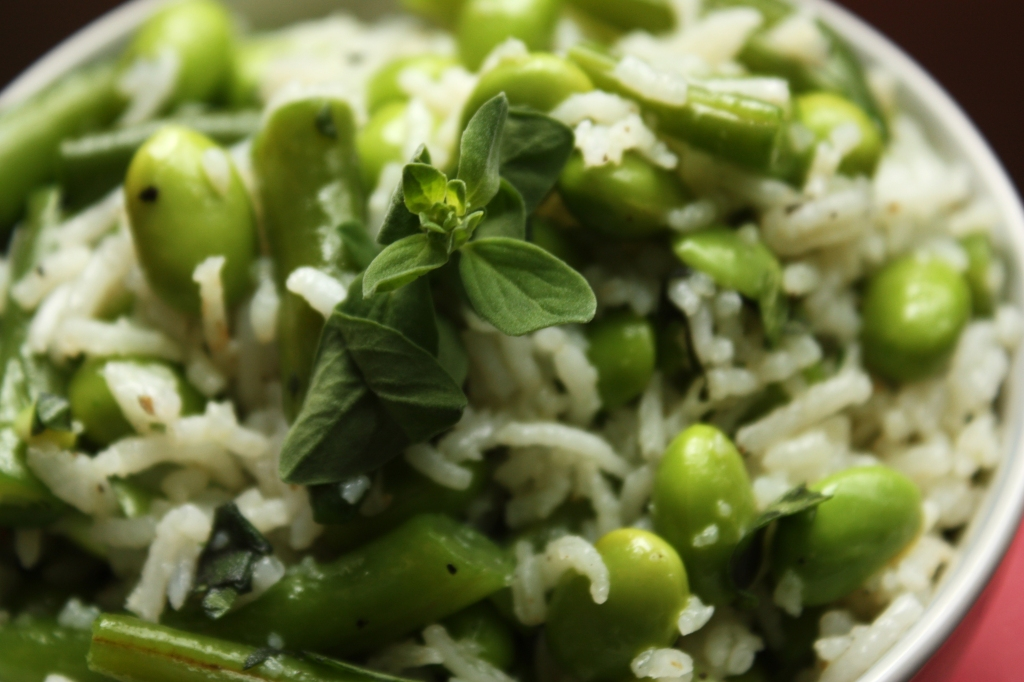 Green Beans and Rice Salad 3