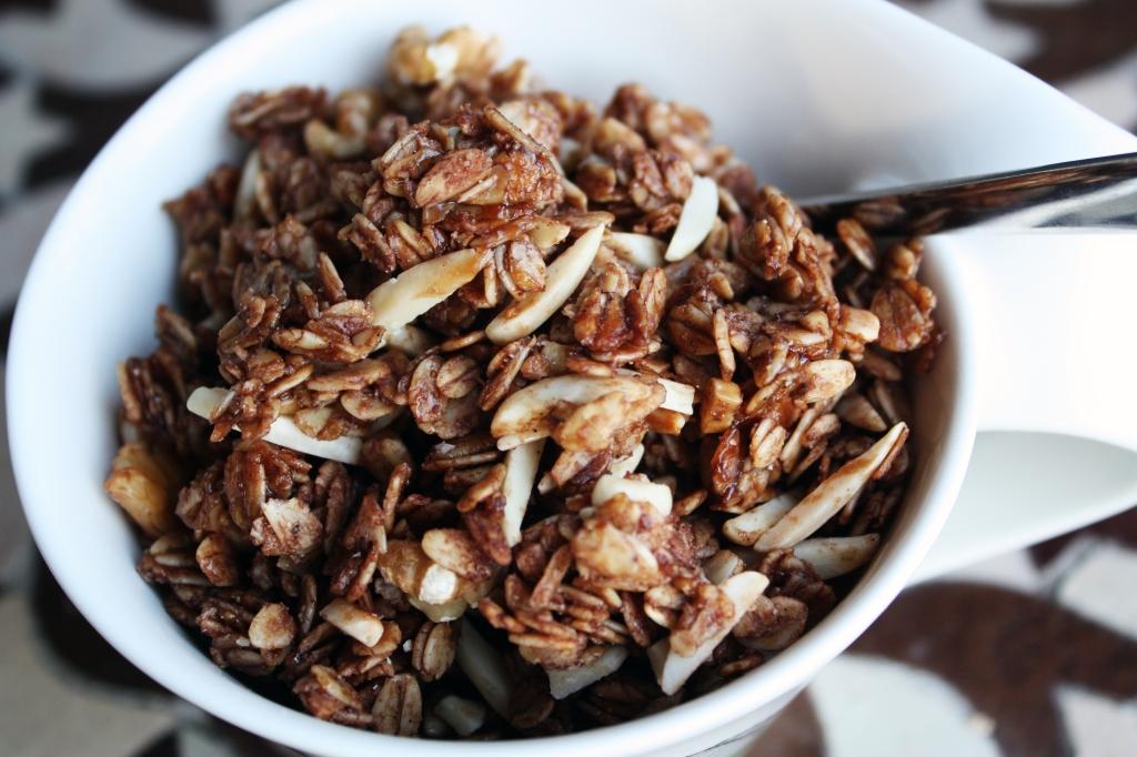 Chocolate Cardamom Granola 2