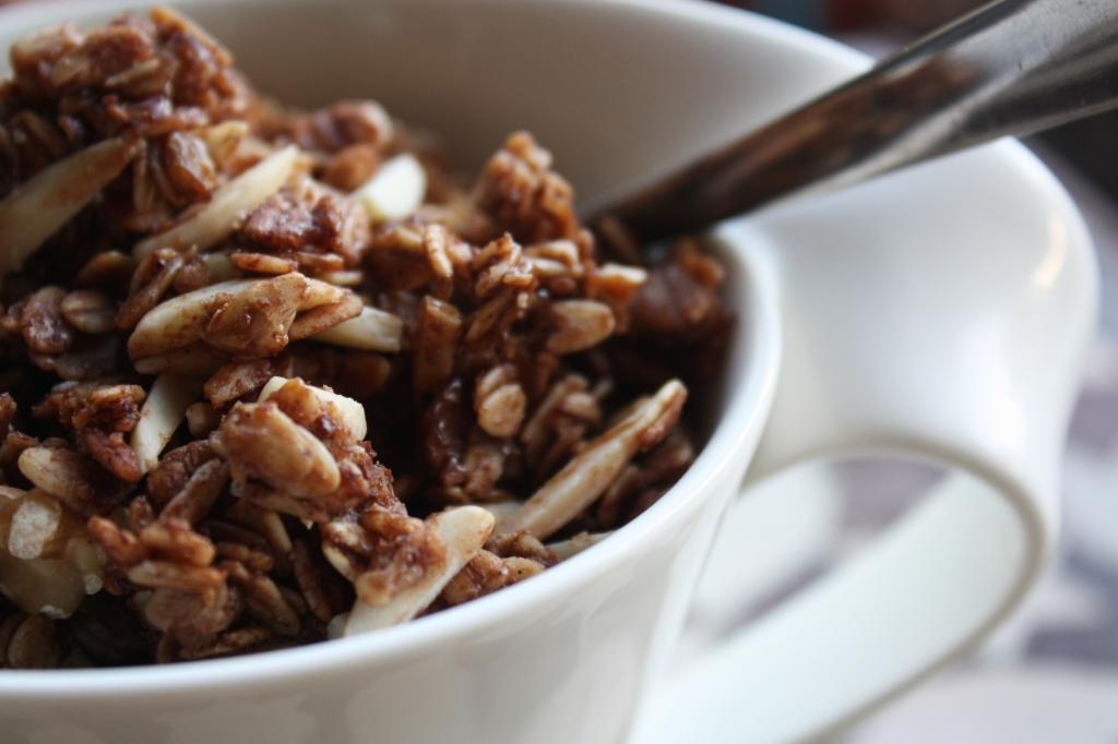 Chocolate Cardamom Granola 3